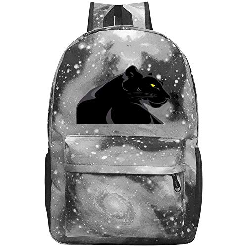 Dsgsd Bolso escuela Yellow-Eyed Panther Casual Large-Capacity