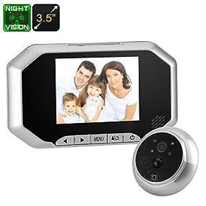 BW Smart Digital Doorbell Door Viewer - 720P Video: Amazon