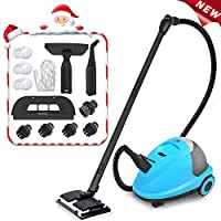 MLMLANT Upgrade Steam Cleaner System, 2.5Liter Water Tank Capacity 2000W Heavy Duty Steam Mops with 20-Piece Accessory Set - Multi-Purpose and Multi-Surface for Home/Kicthen Floors and More