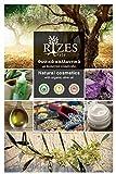 Augencreme für Frauen   pflegende anti-falten augencreme mit bio olivenöl, aloe vera, panthenö und Anti-Aging-Peptiden   rizes crete   Naturkosmetik   30 ml
