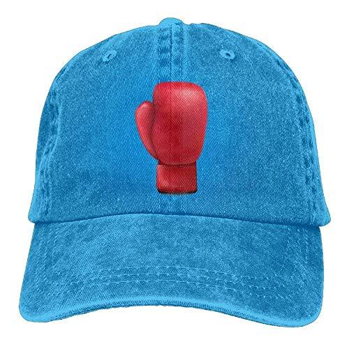 Xukmefat Boxing Glove 3 Denim Hat Adjustable Womens Dad Baseball Cap 0723