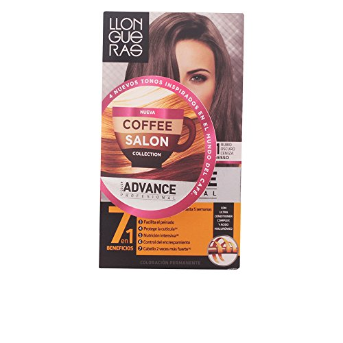 Llongueras Color Advance Colorazione Permanente, Unisex, 6,1 Dark Ash - 60 ml