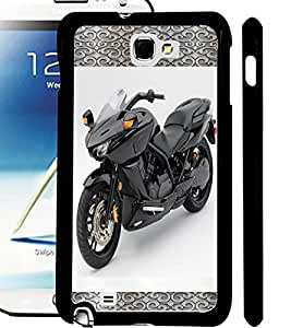 ColourCraft Amazing Bike Design Back Case Cover for SAMSUNG GALAXY NOTE 2 N7100