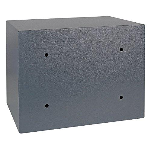 HMF Tresor Safe Möbeltresor Elektronikschloss 380 x 300 x 300 mm - 4