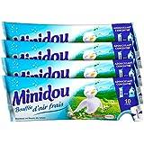 Minidou - Adoucissant en Doses - Bouffée d'air frais - 3x250 ml lot de 4