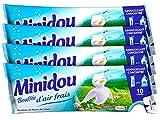 Minidou Bouffée d'Air Frais - Adoucissant en Doses - 3 x 250 ml - Lot de 4