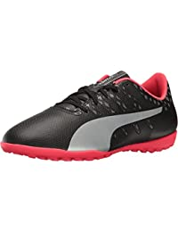 Puma Kids Unisex EvoPower Vigor 4 TT Jr (Little Kid/Big Kid) Puma Black/Puma Silver/Quiet Shade/Bright Plasma... - B01ID8LQ2Q
