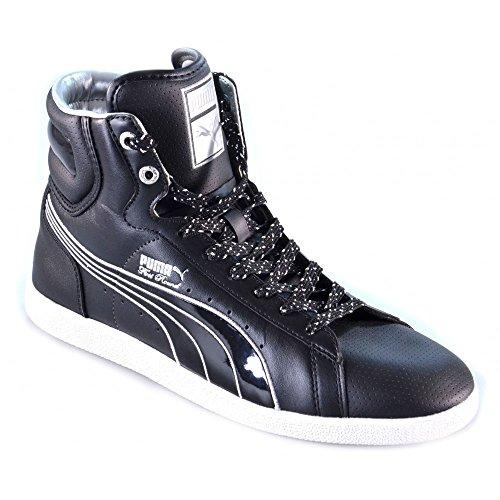 Puma - Puma scarpe uomo donna basket nere Nero