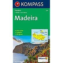 Carte touristique : Madeira