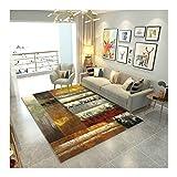 J.SCT-10 Farbvoller Großflächenteppich Moderne und langlebige Teppiche Soft und komfortabel dickflüssiges rutschiges Schlafzimmer,2000MM×3000MM