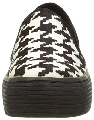 Sixtyseven  Plataforma, Baskets pour femme noir noir/blanc