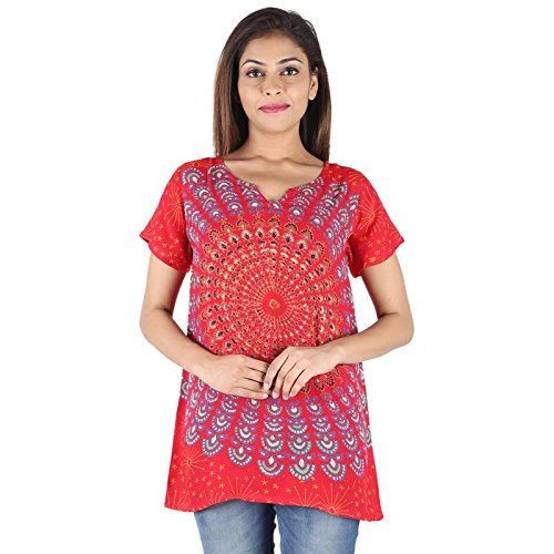 19e0e1639ab3 PURE COMFORT Women's Party Wear Kurti, Long Kurtis For Women/Girls, kurtis,