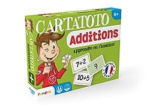 Cartatoto Apprendre les Additions - Jeu de cartes Educatif