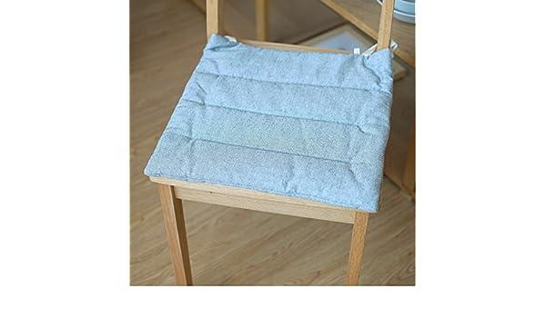 EFRC Einfache gefärbter Baumwolle Kissen Stuhl Sommer Bettwäsche ...