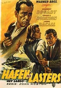 Key Largo Affiche du film Poster Movie Largo de clef (11 x 17 In - 28cm x 44cm) German Style A