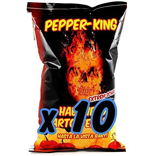 Pepper-King Habanero Kessel Chips (10x125g)