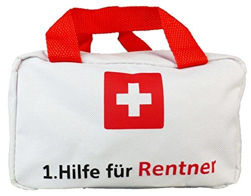 Tasche 1. Hilfe für Rentner Geschenk zum Ruhestand und Rente Abschiedsgeschenk Kollegen