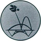 Pokal Emblem Trampolin - 25 mm/gold