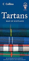 Tartans Map of Scotland (Collins Pictorial Maps) by Collins Maps (2012-07-05)