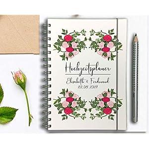 Hochzeitsplaner Deusch Wedding planner PERSONALISIERT Garden of Love