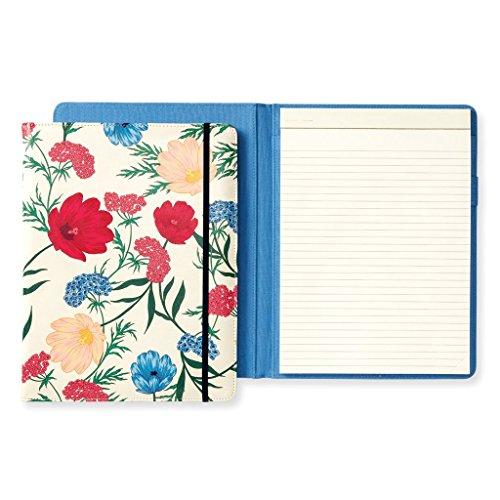 Kate Spade New York Legal Notepad Folio with Elastic Band Closure, Lips (Band Elastic Closure)