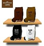 40 Cápsulas de Café compatibles Caffitaly - kit degustación de 40 cápsulas café compatibles con máquinas Caffitaly - Paquete de 4x10 por un total de 40 cápsulas - Il Caffè Italiano