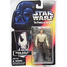 Star Wars Basico Figura Han Solo en carbonita congelacioen (versioen roja)