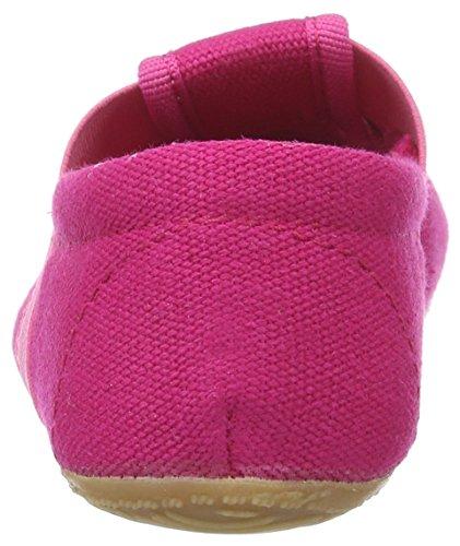 Living Kitzbühel Unisex-Kinder T-Modell Katze mit Brille Pantoffeln Pink (bubblegum)