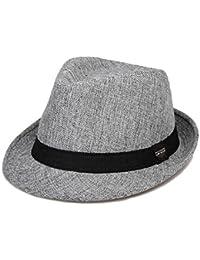 Sombrero de paja de verano Gorra de sol Hombre Gorra de playa plegable  unisex Beach Holiday bdf64eabb9b
