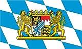 KIWISTAR Aufkleber - Bayern - Bundesland Deutschland Autoaufkleber Sticker Flagge