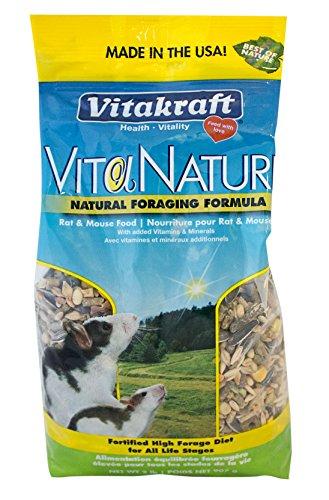 Vitakraft Nahrungsergänzungsmittel für Ratten und Mäuse, 1 Beutel, ca. 0,7 kg -