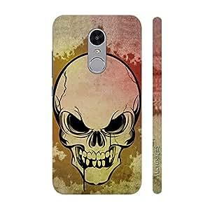Enthopia Designer Hardshell Case Skully Scare Back Cover for Lenovo K6
