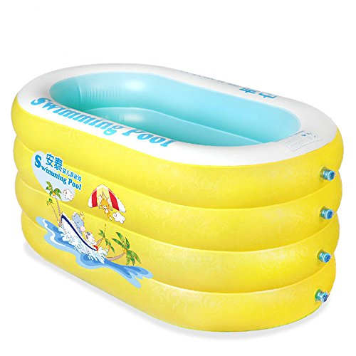 WEBO Home- Children Play Piscina Benna Neonato idromassaggio, la Protezione dell'ambiente Materiale PVC Piscina Gonfiabile del Bambino (130 * 80 * 65cm) (Dimensioni : 130 * 80 * 65cm)
