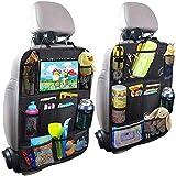 حقيبة تخزين للسيارة - مقعد للسيارة - حقيبة ظهر متعددة الوظائف - ملحقات السيارات - جيب خلفي