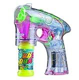 LED Seifenblasenpistole Seifenblasen Pistole Bubble Gun mit Licht und Sound