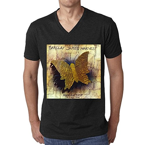 golden-dosa-barclay-james-harvest-mocking-bird-the-early-years-men-t-shirt-v-neck