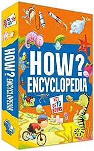 Encyclopedia : How? Encyclopedia Set of 10 Books