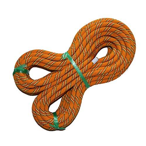Daily@ Klettern Seil Mit 2 Haken 11Mm Durchmesser Rettungsausrüstung Kabel Überleben Sicherheit Seil,20M
