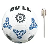 #1: Bull Sports N5 Rubber Football Size 5 (32 Panel)