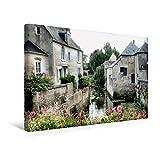 Premium Textil-Leinwand 45 cm x 30 cm quer, Bayeux | Wandbild, Bild auf Keilrahmen, Fertigbild auf echter Leinwand, Leinwanddruck (CALVENDO Orte)