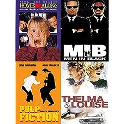 90er Jahre Party-Dekoration, 10 x 90er Film- und TV Poster