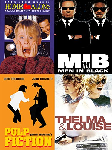 10 x 90s Film and TV posters