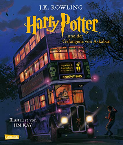 Harry Potter und der Gefangene von Askaban (farbig illustrierte Schmuckausgabe) (Harry Potter 3) - 3 Regal 5 Regal Bücherregal