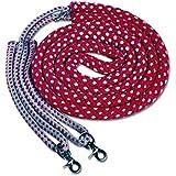 Snowhill–Ayuda Rojo/Gris | Longiergurt Sistema de entrenamiento | Snowhill–Riendas Longing Sistema Talla Pony