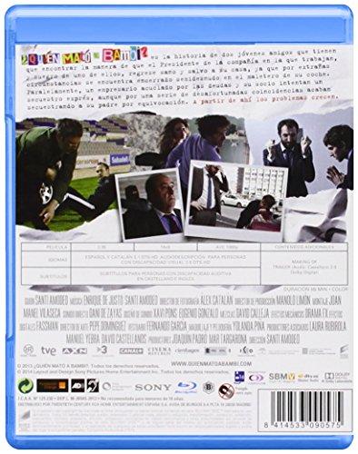 ¿Quién Mató A Bambi? (Blu-Ray) (Import) (Keine Deutsche Sprache) (2014) Clara Lago; Quim Gutiérrez; J