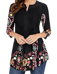comprare popolare 2afc4 15a71 Amazon.it: taglie forti donna abbigliamento - Bluse e ...