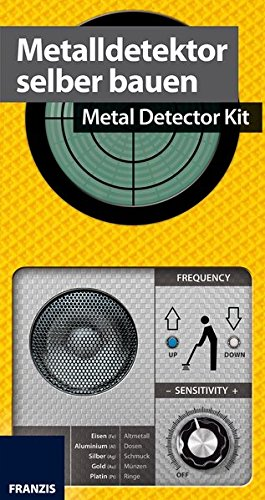 Franzis Make Your Own Metal Detector Kit & Manual