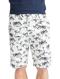 Short Chino pour homme nouveau Threadbare été plage de Palmiers Pure Pantalon en coton