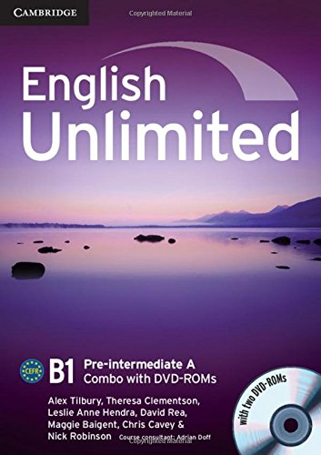 English Unlimited. Level B1 Combo A. Con DVD-ROM