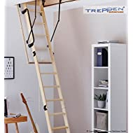 Profigold Perfect Sliding Timber Loft Ladder 3 Size with Thermal Insulation Value 0.9 Airtight Class 4